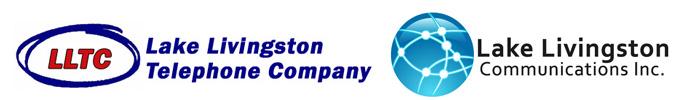 Lake Livingston Telephone Company Retina Logo